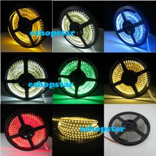 600 LEDs Flexible Strip Lights 7 Colors CAR DIY Whole Sale Christmas