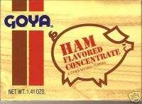 Box Caja Jamon Goya   Seasoning Ham Puerto Rico