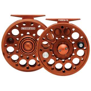 Redington Fly Fishing Rise Reel Burnt Orange 3/4
