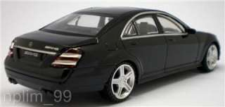 RASTAR 1/43 Diecast Car MERCEDES BENZ S63 AMG Black NEW