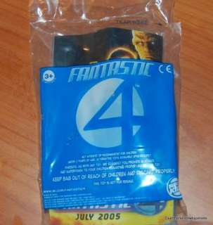 Burger King Toy Fantastic Four Kids meal NIP 2005