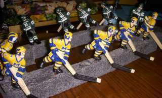 Super Chexx Bubble Hockey Custom Player Painting and Decaling