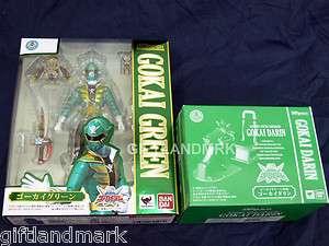 BANDAI S.H. Figuarts Kaizoku Sentai Gokaiger GOKAI GREEN Ranger action