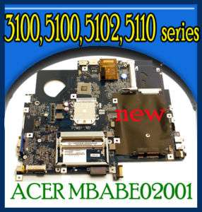 New Acer Aspire 5100 AMD IDE MotherBoard MBABE02001