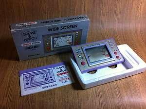 Nintendo Game & Watch Snoopy Tennis Japan Complete