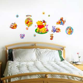 Winnie The Pooh 7   Medium Wall Stickers Home Decor