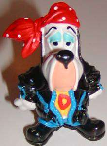 Droopy Dog in Leather Jacket Figurine Vintage Cartoon