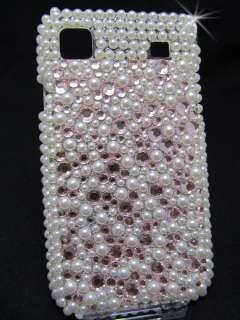 Samsung Galaxy S Plus i9001 Hard Case Cover Tasche Glitzer Strass