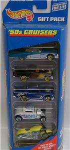 1950S GIFT PACK 5 CARS DIECAST HOT WHEELS 164