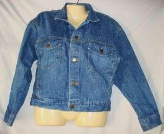 Womens Paris Blues Denim Jean Jacket Size Medium