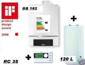 Buderus Gastherme Brennwert GB162 15 kw Paket W9 120