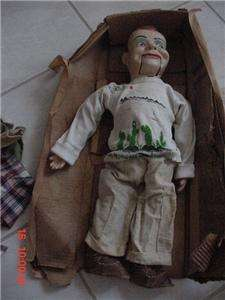 Vintage 1950s PAUL WINCHELLS COMPOSITION VENTRILOQUIST DUMMY DOLL, by