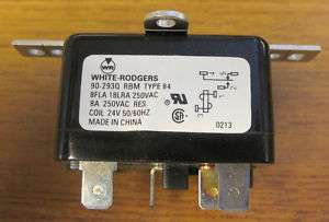 White Rodgers 90 293Q Fan Relay