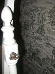 Ethan Allen Alabaster White Cheval Floor Mirror