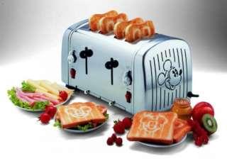 Micky Maus und Freunde Toaster für 4 Scheiben Toast Mickey Mouse