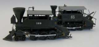 IMPORT BRASS HO STEAM LOCOMOTIVE & TENDER 0 8 0 CONSOLIDATED NoRe