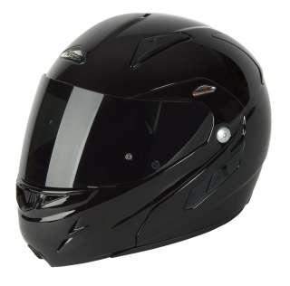 Nitro F341 VN DVS Motorcycle Helmet Gloss Black L