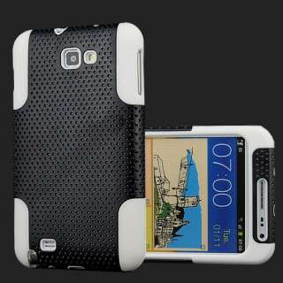Mesh Silicone Case with Screen Protector for Samsung Galaxy Note i9220