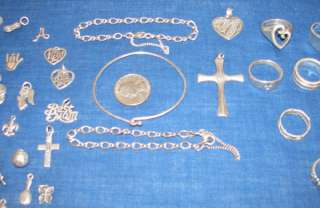 James Avery Sterling Silver Rings Pendants Bracelets Charms + Jewelry