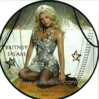 BRITNEY SPEARS till the world ends pt.1 12picture MINT vinile nuovo