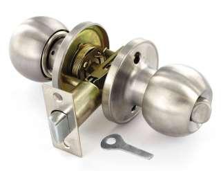 Satin Stainless Steel Door Knob Set