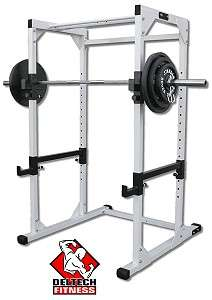 NEW* DF4500 Pro Power Rack by Deltech Fitness