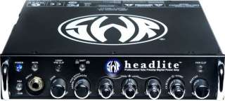 SWR HEADLITE 400 WATT BASS AMP HEAD LIGHT AWESOME
