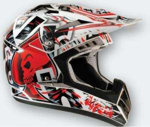 Casco moto Cross AIROH RAPTOR red cr yz tm mx sx ktm