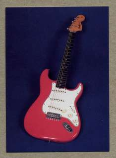 1966 Fender Stratocaster   guitar card series 2 #37