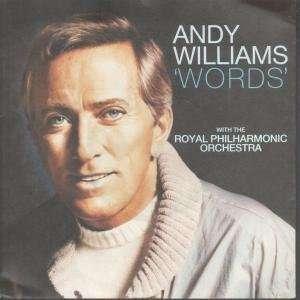 WORDS 7 INCH (7 VINYL 45) UK EMI 1984: ANDY WILLIAMS: Music