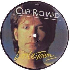 : LITTLE TOWN 7 INCH (7 VINYL 45) UK EMI 1982: CLIFF RICHARD: Music