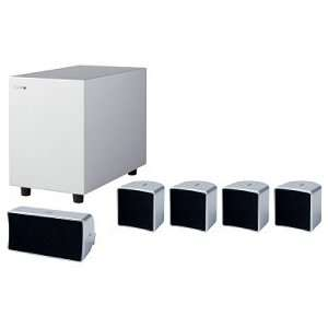 Jamo A 102 HCS 5 silver Silver 5.1 channel home theater
