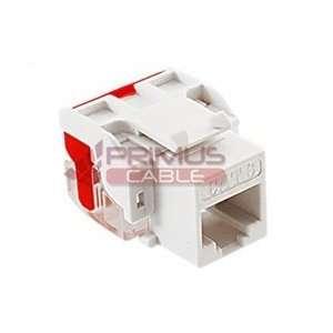 ICC CAT6 Keystone Component Rated Jack 8x8 110 IDC Press