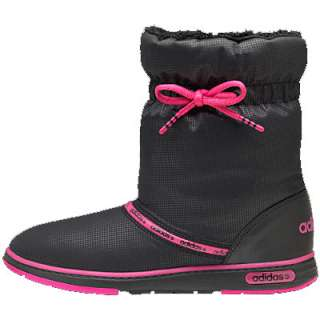 Adidas Warm Comfort Winter Boots Black/Pink Womens Size