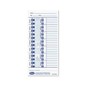 Universal Time Card, White, 100/Pack Home & Kitchen