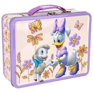 Disney Daisy Duck Carry All Tin Purse   Purple   Tinbox Co   Fashion