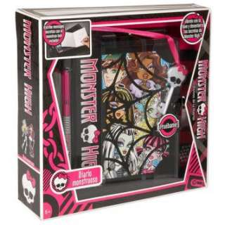 MONSTER HIGH DIARIO SEGRETO DA PAURA MATTEL V1137