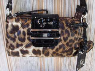 Borsa bag Guess Dynamite leo # LP304211 leopardata
