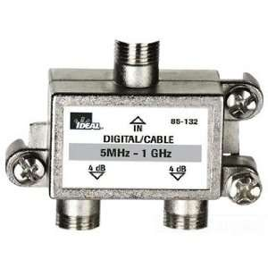 IDEAL INDUSTRIES 85 132 2 WAY SPLITTER,5 1 GHZ Camera