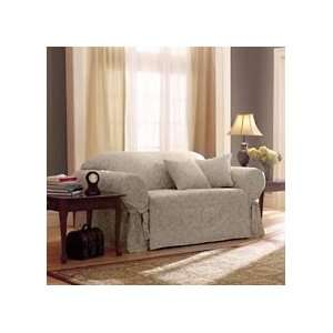 Home Trends Scroll Slipcovers Champagne Home & Kitchen