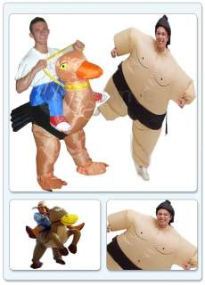 Brand New Inflatable Cowboy / Sumo Wrestler / Ostrich Stag Dress Party