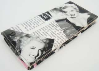 BNWT Genuine Leather MARILYN MONROE WALLET purse