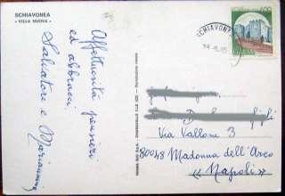 1985 SCHIAVONEA Villa Nuova Ristorante Bar Paradiso