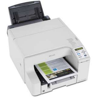 Ricoh Aficio GX e3350N Color Inkjet Printer   Wired Networking