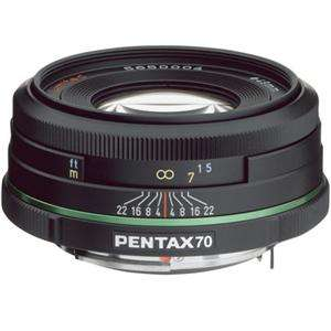 Pentax SMCP DA 70mm f/2.4 ED Lens Limited Edition  Black #21620 21620