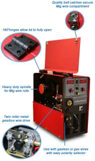 New 200 Amp MIG MAG Welder Gas & Gasless