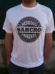 Camiseta SONS OF ANARCHY SAMCRO redondo T shirts