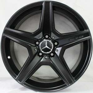 18 inch Genuine Mercedes Benz C63 AMG Wheels   Custom Black