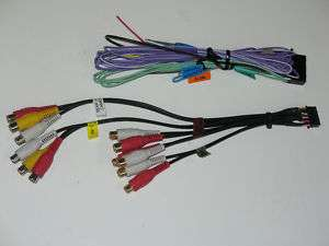 Kenwood KVT 522,KVT522 Power Speaker, RCA Cable Harness