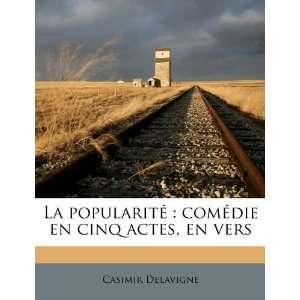 , en vers (French Edition) (9781179579924): Casimir Delavigne: Books